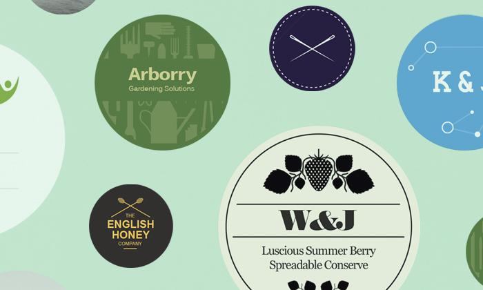 Avery WePrint Round labels