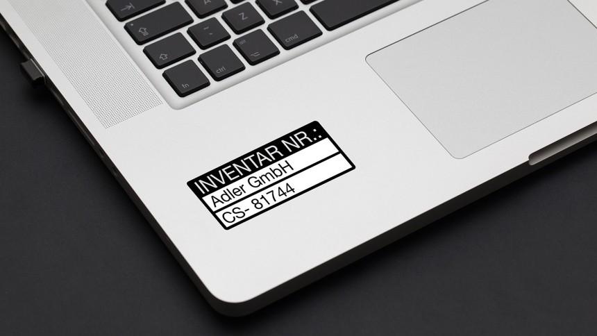 Gratis Vorlagen für Inventaretiketten | Avery Zweckform