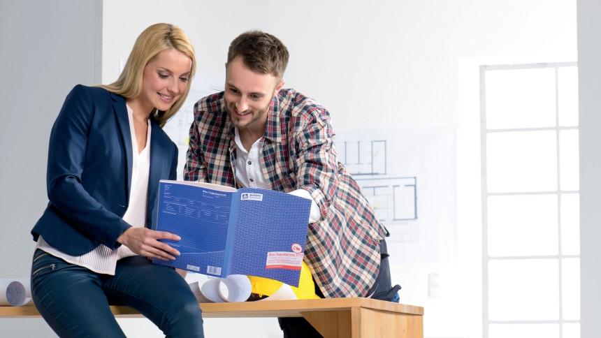 bauformulare f r das handwerk avery zweckform. Black Bedroom Furniture Sets. Home Design Ideas