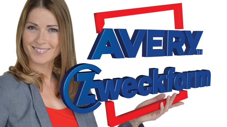Anna Cover mit Avery Zweckform Logo