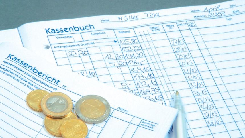 kassenformulare - Kassenbuch Muster
