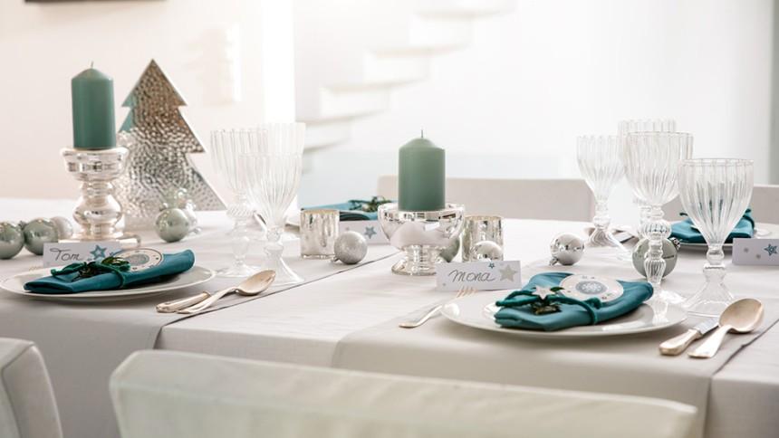 Weihnachtliche Tischdekoration Avery Zweckform