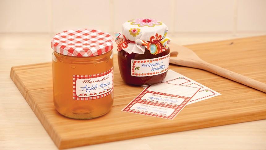 Anleitung Zum Selbermachen Von Marmelade Avery Zweckform
