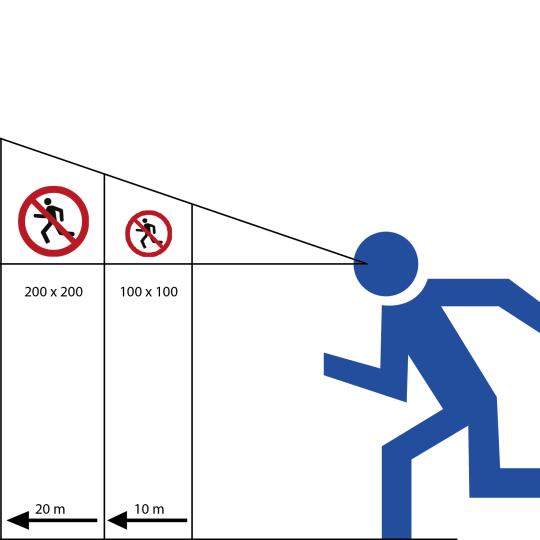 Vorlagen für Verbotsschilder | Avery Zweckform