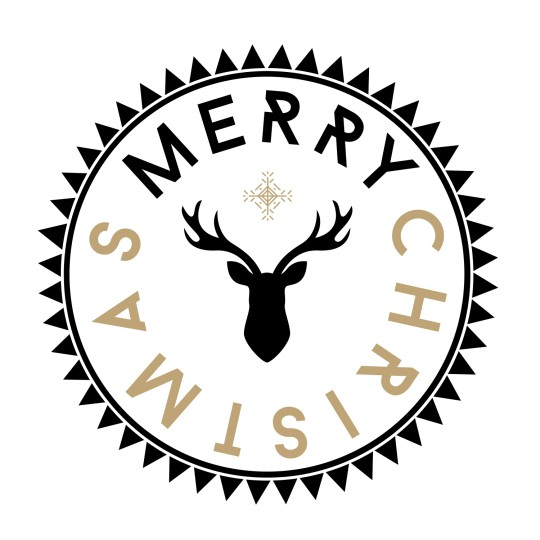 Stempel Merry Cristmas