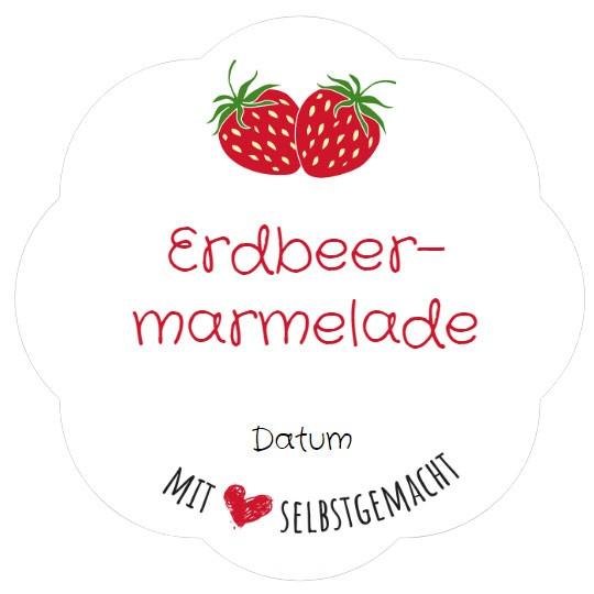 Vorlage etiketten marmelade