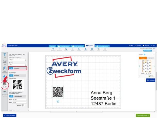 Anleitung Etiketten mit eigenem Logo gestalten | Avery Zweckform