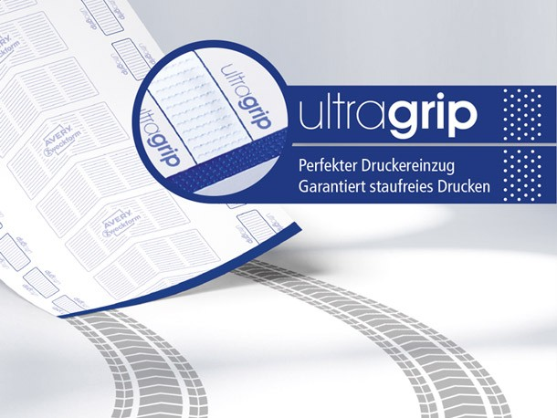 Innovative Ultra Grip Technologie von Avery Zweckform