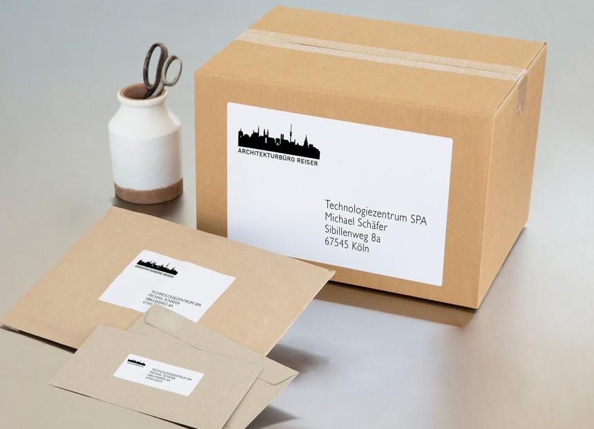 Paket adressieren