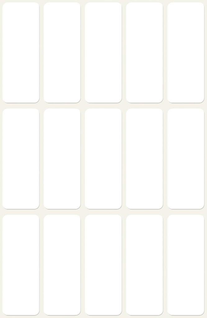 38,1x21,2 Größe 650 Etiketten Adressetiketten 10 Blatt DIN A4