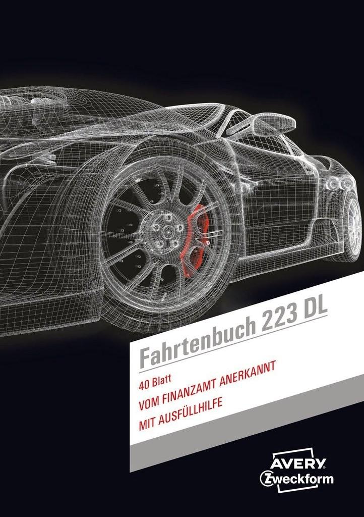 fahrtenbuch drivers edition 223dl avery zweckform. Black Bedroom Furniture Sets. Home Design Ideas