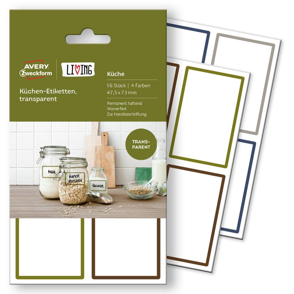 Küchenetiketten | 62003 | Avery Zweckform
