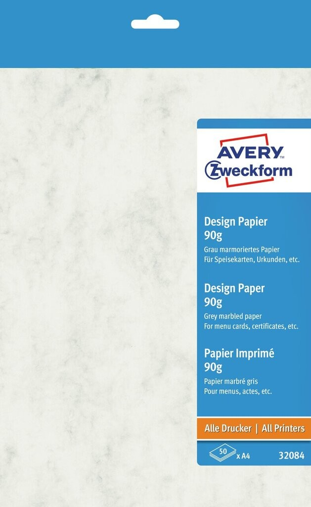 Marmoriertes Papier 32084 Avery Zweckform