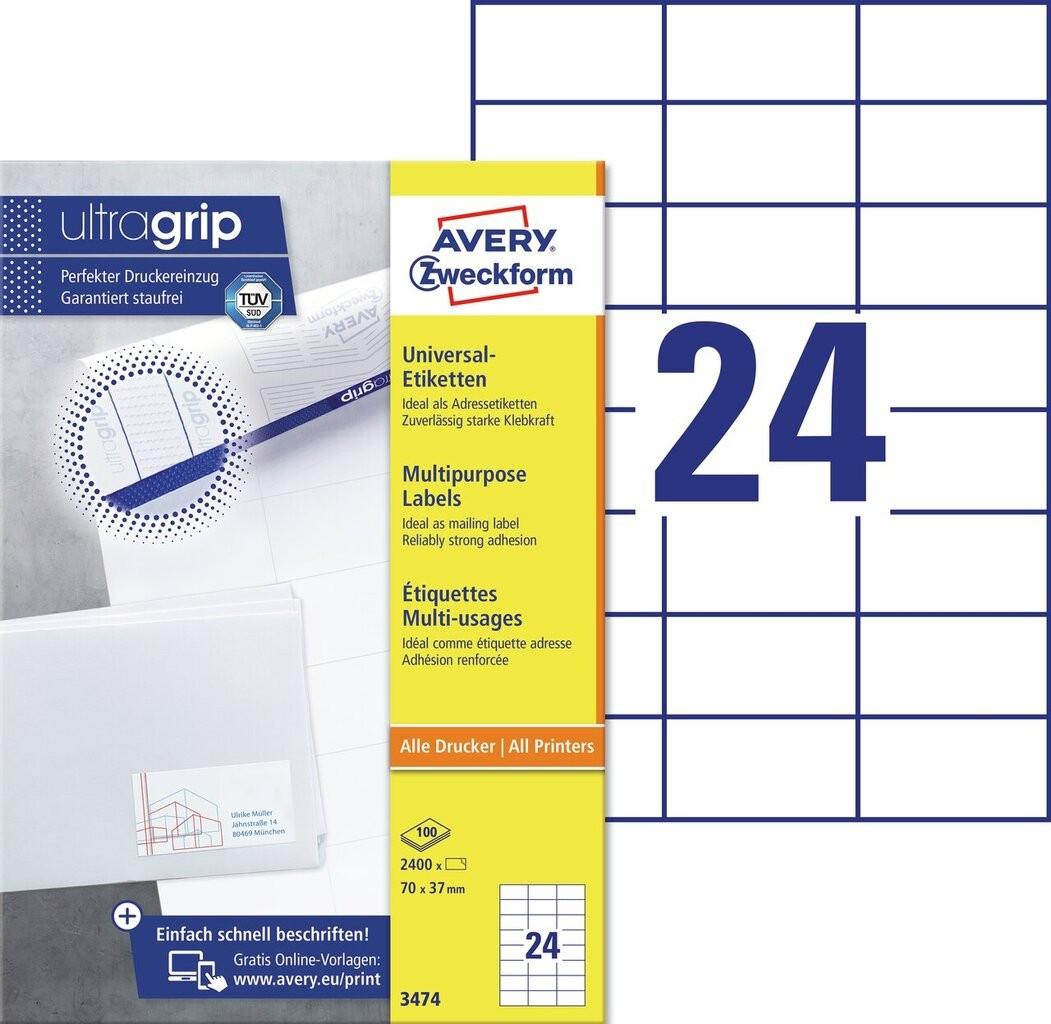 Universal-Etiketten | 3474 | Avery Zweckform