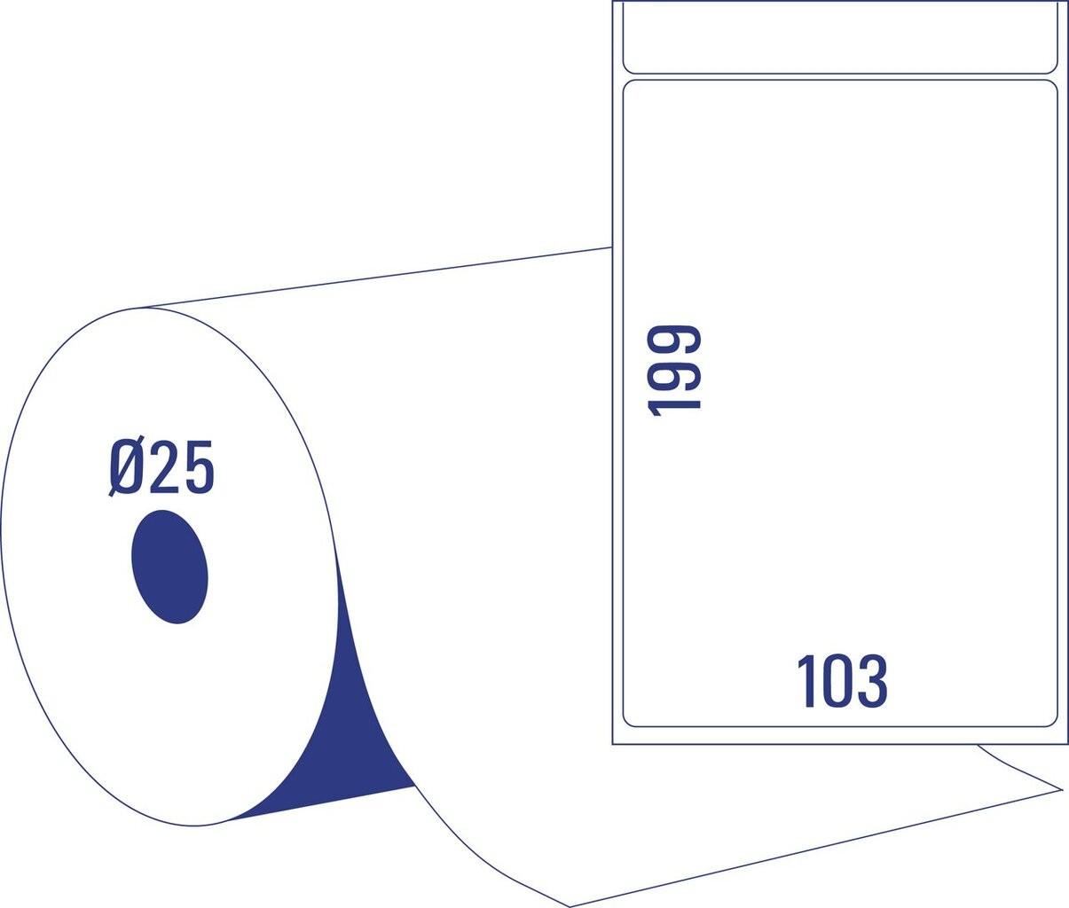 Thermotransferetiketten | TT8060-25 | Avery Zweckform
