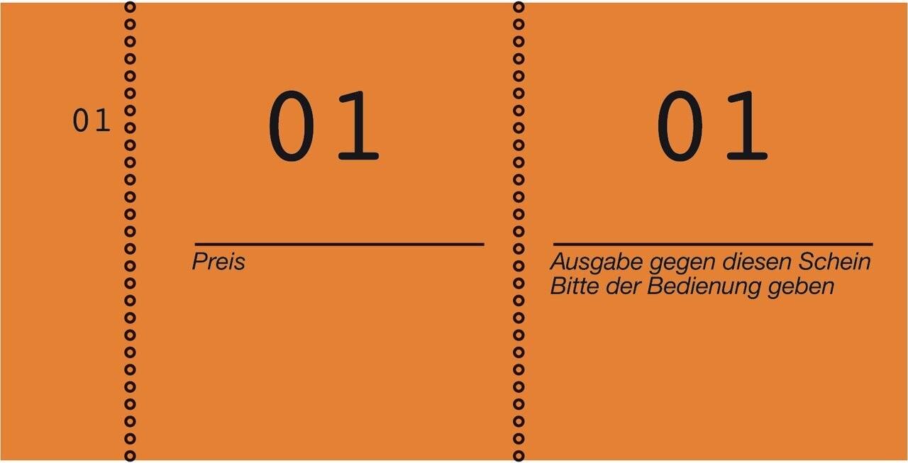 Nummernblock | 869-10-1 | Avery Zweckform