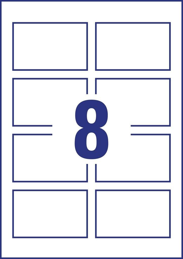 Visitenkarten C32024 10 Avery Zweckform