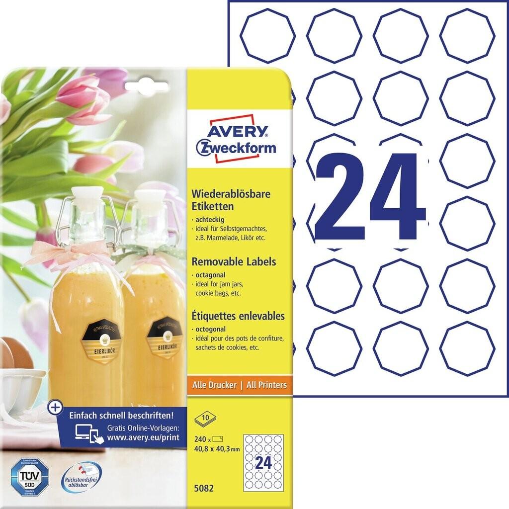 Flaschenetiketten   5082   Avery Zweckform