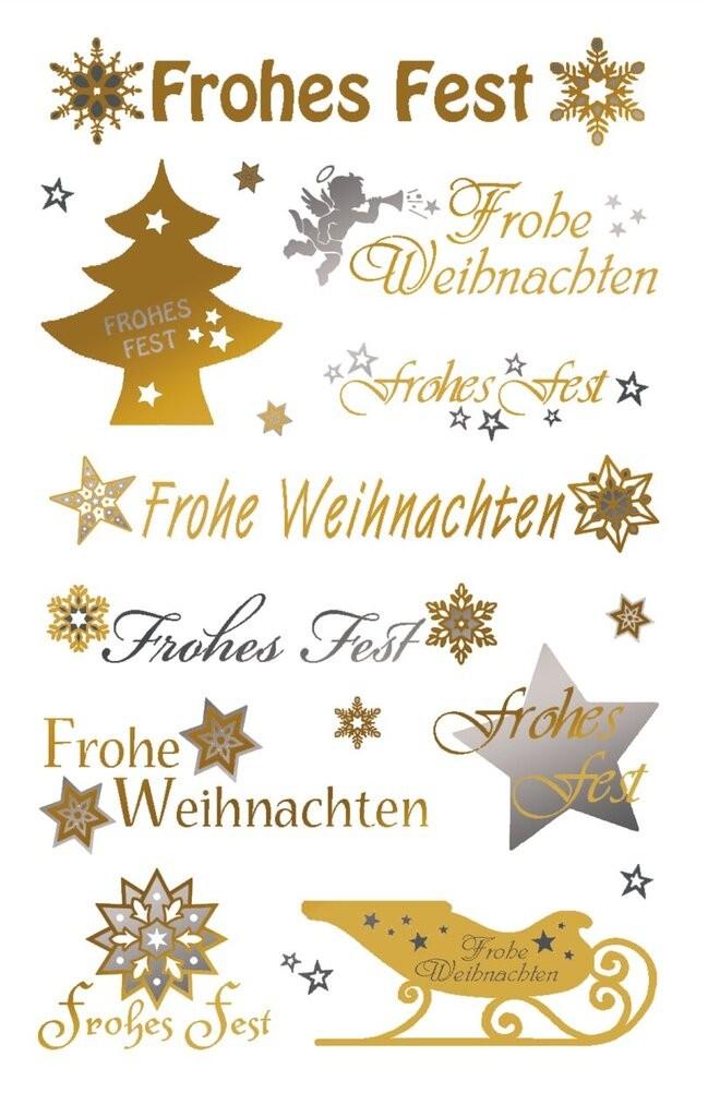 Schriftzug Frohe Weihnachten Zum Ausdrucken.Weihnachts Sticker 52720 Avery Zweckform
