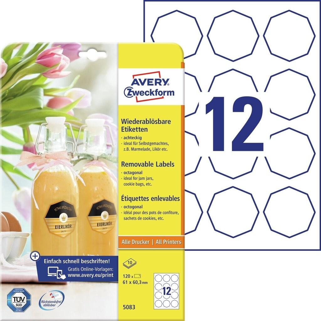 Flaschenetiketten   5083   Avery Zweckform
