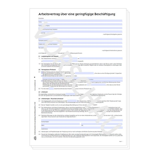 Formulare Für Verträge Avery Zweckform