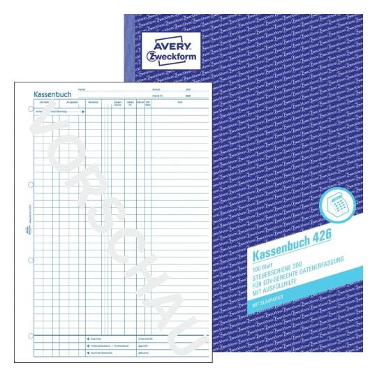 Kassenbuch Gunstig Kaufen Avery Zweckform