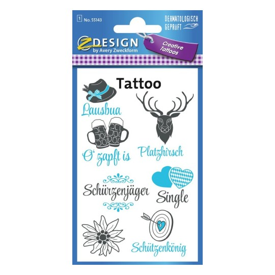 Wiesn Bayern Tattoos 55143