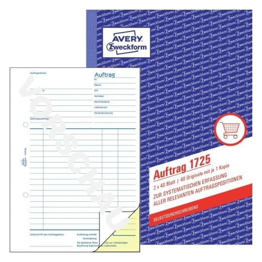 Formulare für Einkauf & Verkauf   Avery Zweckform