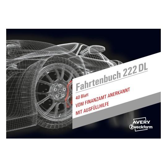 fahrtenbuch drivers edition 222dl avery zweckform. Black Bedroom Furniture Sets. Home Design Ideas