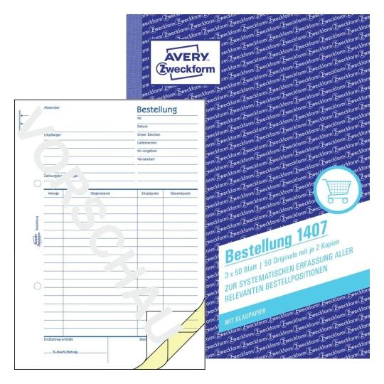 Formulare für Einkauf & Verkauf | Avery Zweckform