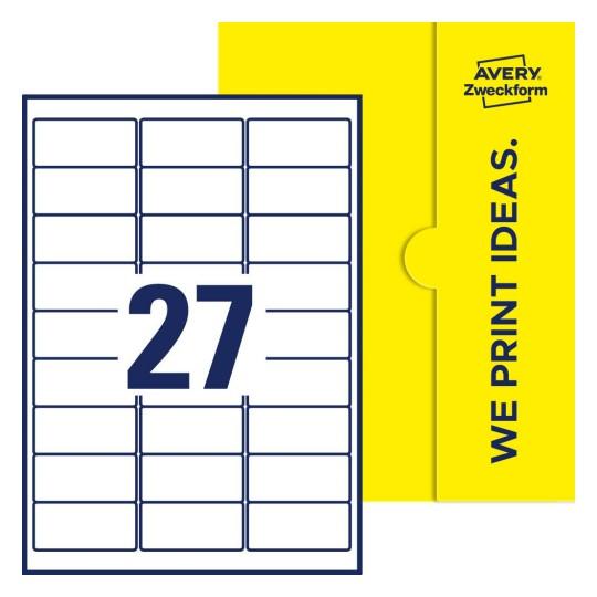 100x DIN A4 Etiketten Klebeetiketten selbstklebend Bögen weiß Größe 70 x 36 mm