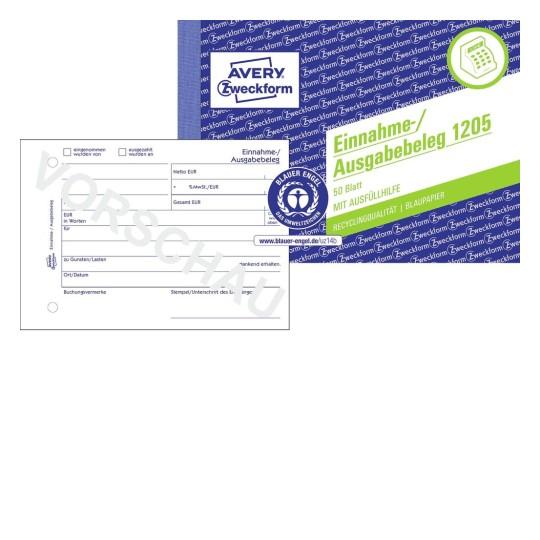 Formulare Für Kasse Buchhaltung Avery Zweckform