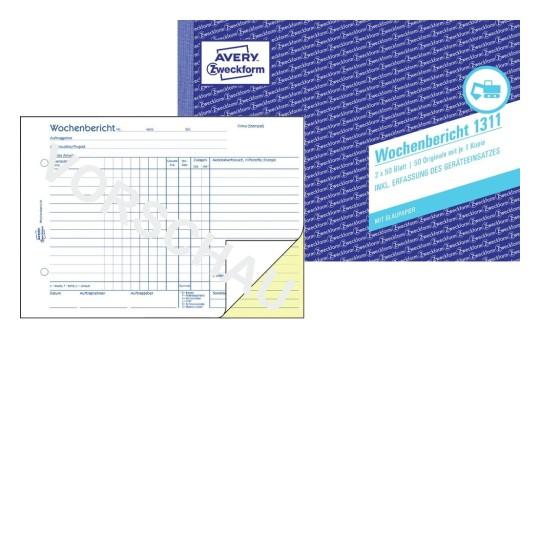 Bauformulare Für Das Handwerk Avery Zweckform