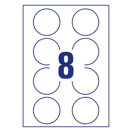 Wunderbar avery vorlagen 5294 zeitgen ssisch beispiel for Avery template 5027
